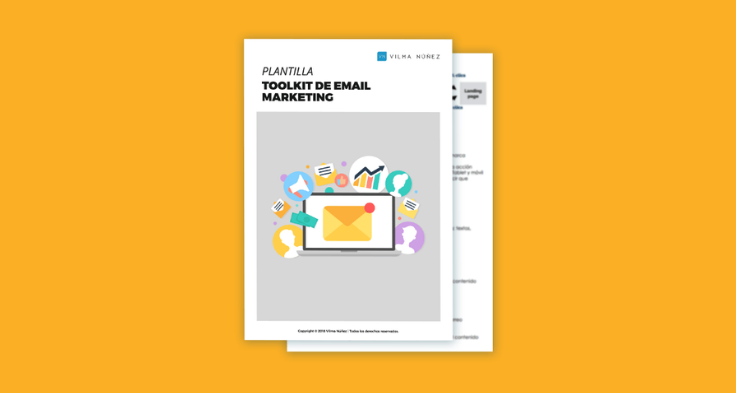 plantilla de email marketing