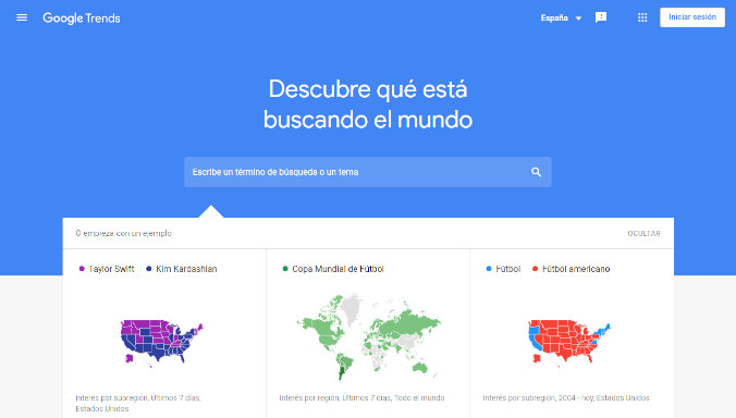 Marketing Digital Google trends