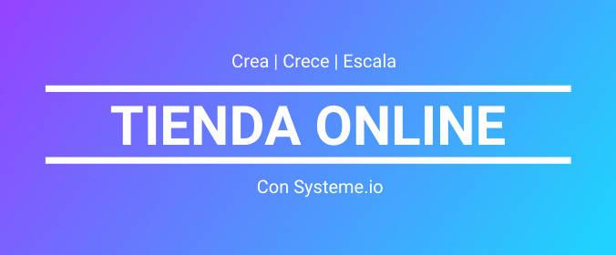 tienda online ecommerce systeme.io