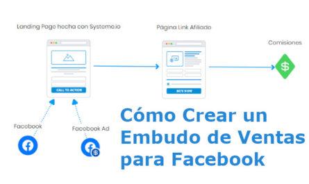 como crear un embudo de ventas para facebook