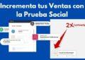 Provely review mas ventas con la prueba social
