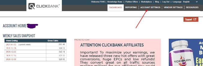 como retirar dinero de clickbank a tu cuenta