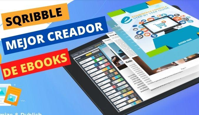 Sqribble: Mejor Creador de Ebooks