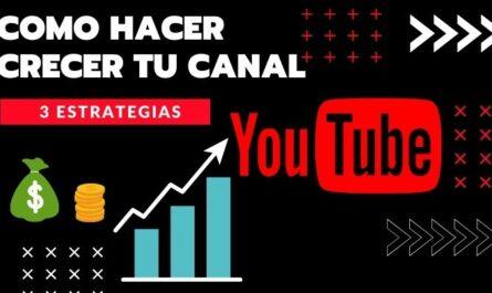 crecer en youtube