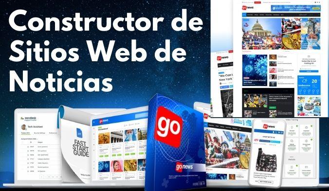 Cómo Crear sitio web de Noticias