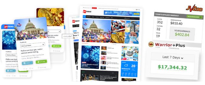 crear sitio web de noticias con este software