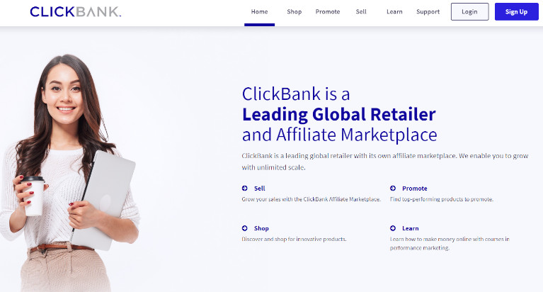 marketing de afiliados clickbank