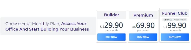 precios de builderall