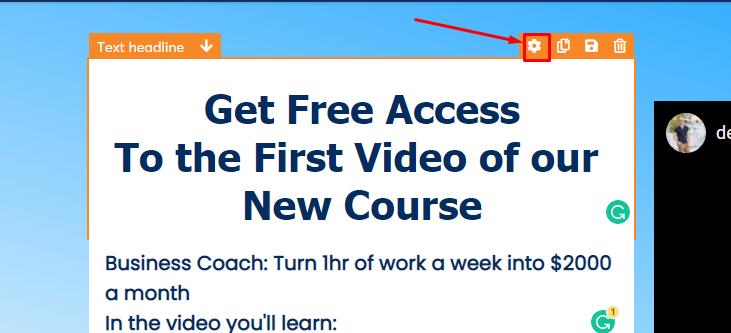 personalizar tu landing page