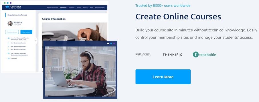 Cursos Online con Systeme